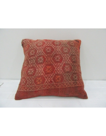 Vintage Handwoven Decorative Turkish Kilim pillow cover
