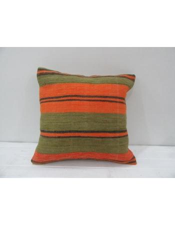 Vintage Colorful Decorative Turkish Kilim Pillow Cover