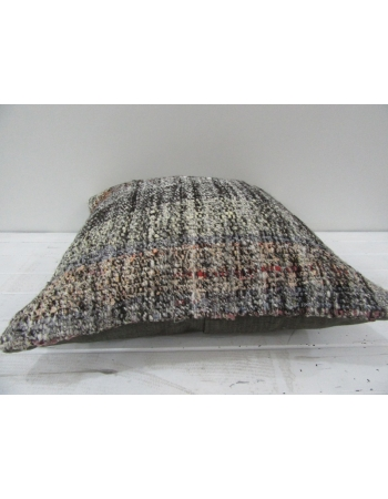 Vintage Handwoven Multicolor Turkish Kilim Pillow cover
