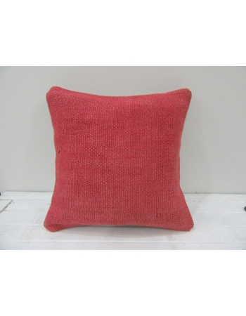Vintage Handwoven Fushia Turkish Kilim Pillow cover
