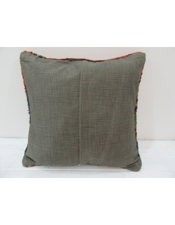 Vintage Handknotted Decorative Turkish Pillow cover