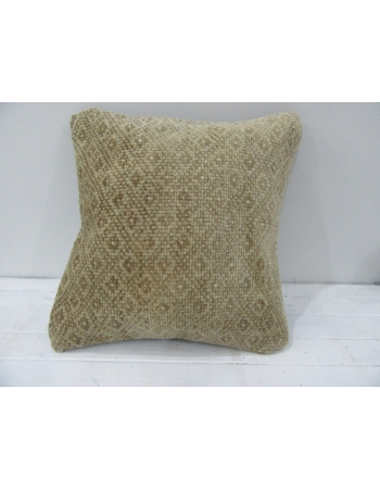 Vintage Handmade Decorative Beige Turkish Pillow cover