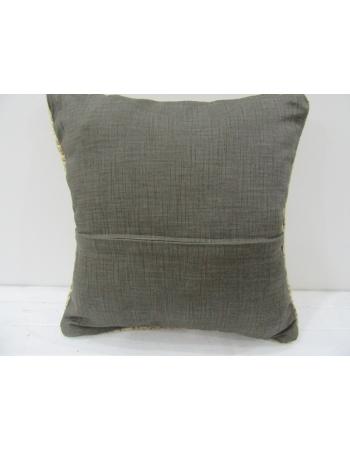 Vintage Handmade Decorative Beige Turkish Pillow cover