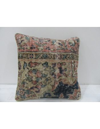 Vintage Handmade Decorative Distressed Turkish Pillow cover