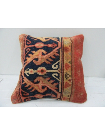 Vintage Handmade Decorative Rusty Turkish Pillow cover