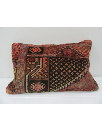 Vintage Handmade Brown Pillow Cushion Cover