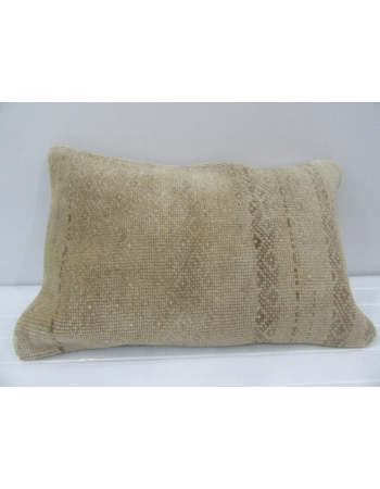 Vintage Handmade Beige Pillow Cushion Cover