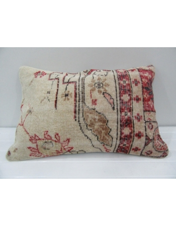 Vintage Handmade Floral Designed Pillow Cushion Cover