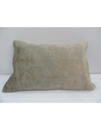 Vintage Handmade Beige Pillow Cushion Cover