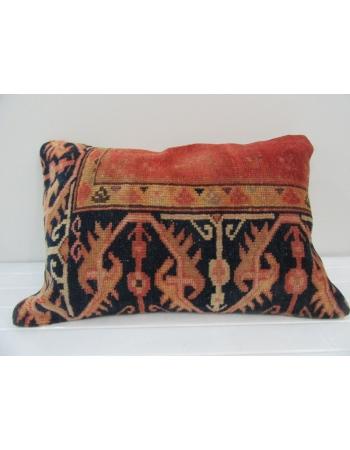 Vintage Handmade Rust Pillow Cushion Cover