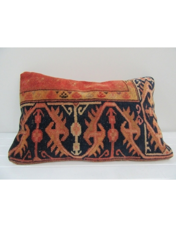 Vintage Handmade Rust Pillow Cushion Cover
