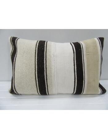 Vintage Handwoven Striped Kilim Cushion Cover