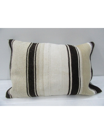 Vintage Handwoven Striped Kilim Cushion Cover