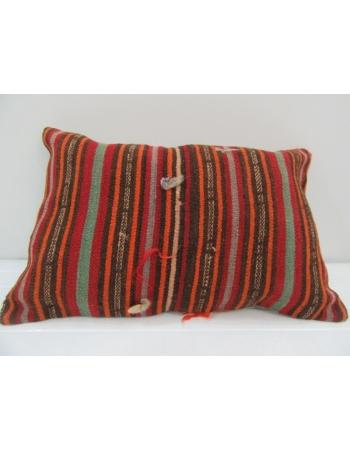 Vintage Handmade Colorful Kilim Cushion Cover