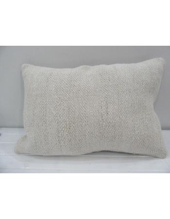 Vintage Handmade Natural Beige Kilim Pillow Cover
