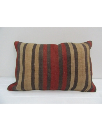 Vintage Handmade Striped Kilim Cushion Cover