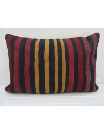 Vintage Handmade Striped Kilim Cushion Cover