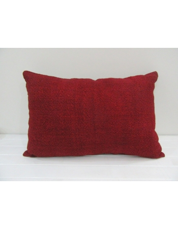 Vintage Handmade Natural Red Kilim Pillow Cover