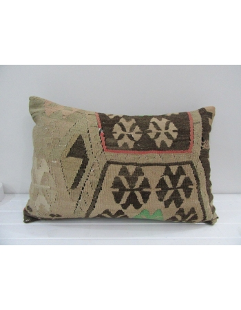 Vintage Handmade Emroidered Kilim Pillow Cover