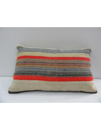 Vintage Handmade Colorful Turkish Kilim Pillow cover
