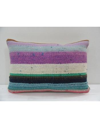 Vintage Handmade Colorful Turkish Kilim Pillow cover