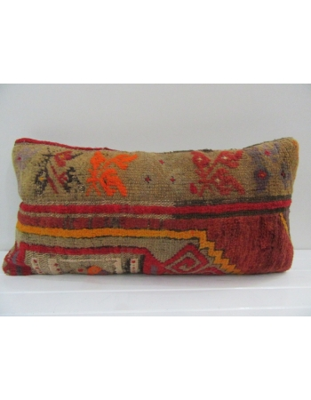 Vintage Handmade Decorative Multicolor Turkish Pillow Cover