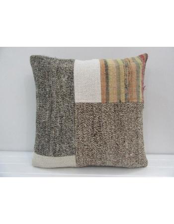Handmade Decorative Patchwork Turkish Kilim Pillow Cover