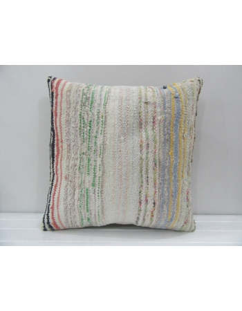 Handmade Decorative Hemp Turkish Kilim Pillow Cover