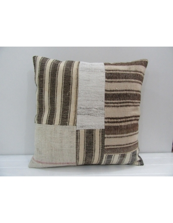 Handmade Decorative Patchwork Turkish Kilim Pillow Cover
