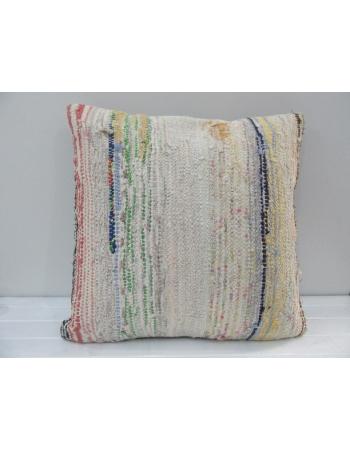 Handmade Decorative Hemp Turkish Kilim Pillow Cover