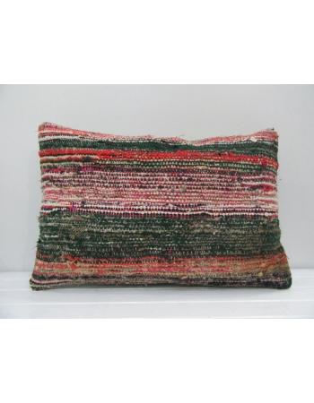 Vintage Handmade Multicolor Striped Kilim Cushion Cover