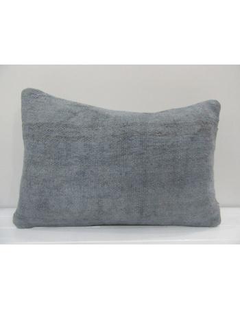 Vintage Handmade Gray Natural Kilim Cushion Cover