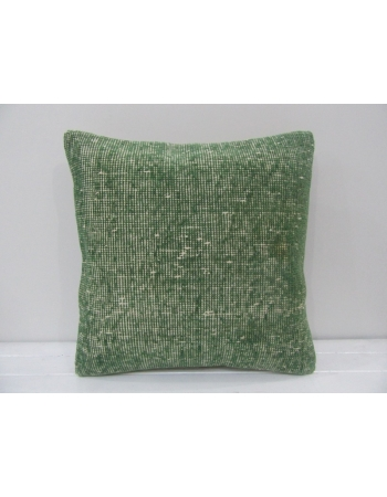 Vintage Handmade Decorative Green Turkish Pillow Cover