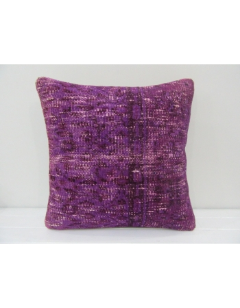 Vintage Handmade Decorative Purple Turkish Pillow Cover