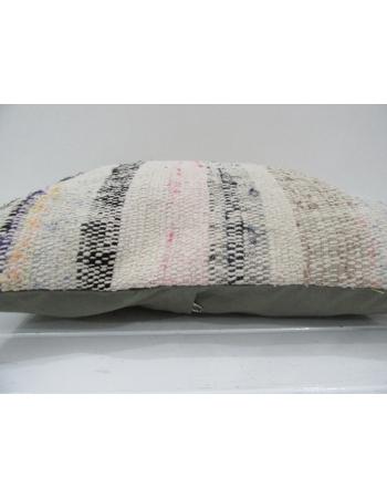 Vintage Handmade Decorative Striped Kilim Pillow Cover
