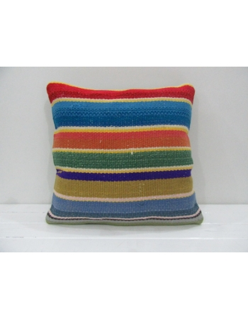 Vintage Handmade Decorative Multicolor Kilim Pillow Cover