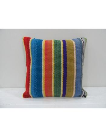 Vintage Handmade Decorative Multicolor Kilim Pillow Cover