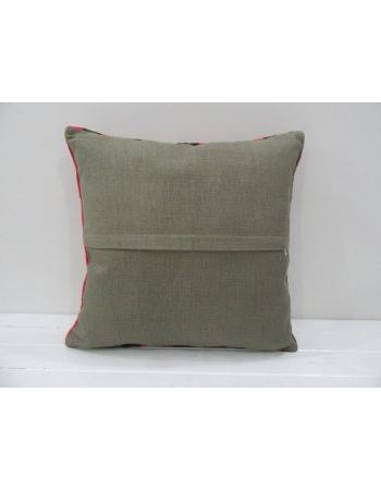 Vintage Handmade Decorative Multicolor Striped Kilim Pillow Cover