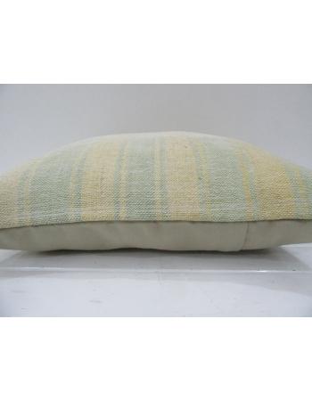 Vintage Handmade Decorative Striped Natural Kilim Pillow Cover
