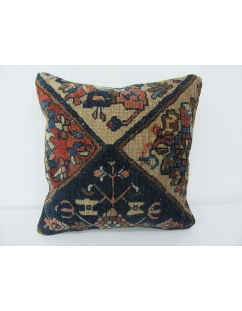 Antique Navy Decorative Pillow Cover