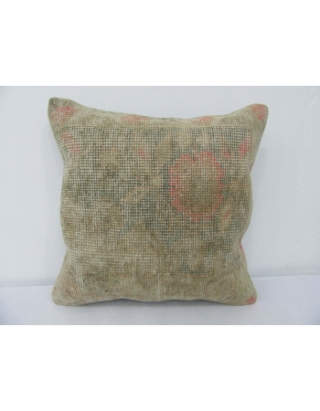 Faded Decorative Vintage Pillow Cover
