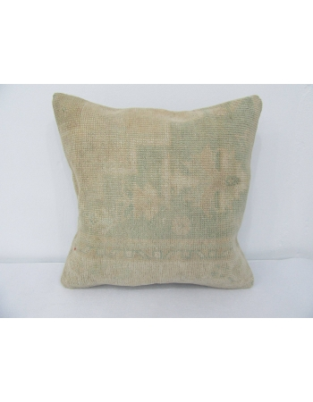 Handmade Faded Vintage Pillow Cover