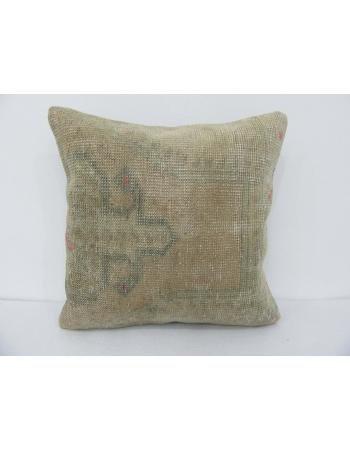 Vintage Faded Handmade Turkish Pillow