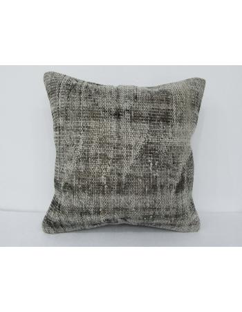 Vintage Gray Handmade Pillow Cover