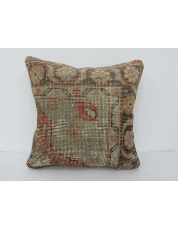 Vintage Worn Turkish Pillow Cover