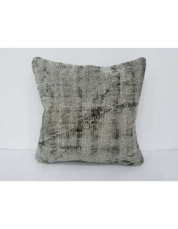 Gray Overdyed Vintage Pillow Cover