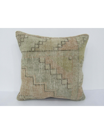 Worn Vintage Decorative Pillow Cover