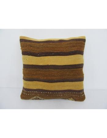 Decorative Striped Kilim Pillow Cover