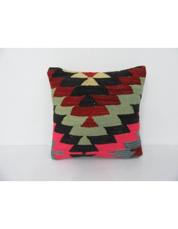 Colorful Vintage Decorative Kilim Pillow