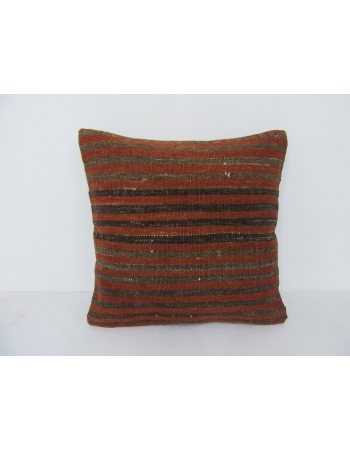 Decorative Vintage Striped Kilim Pillow